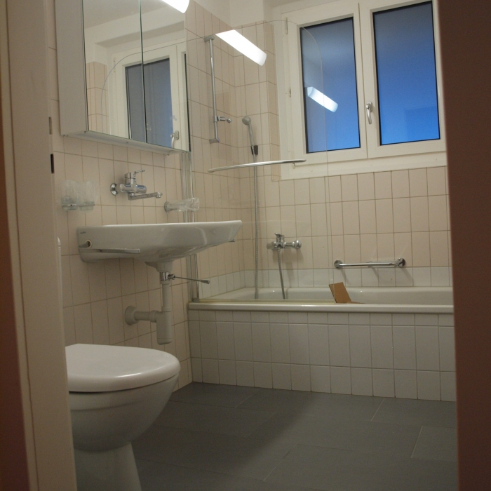 Bad/Dusche und WC
